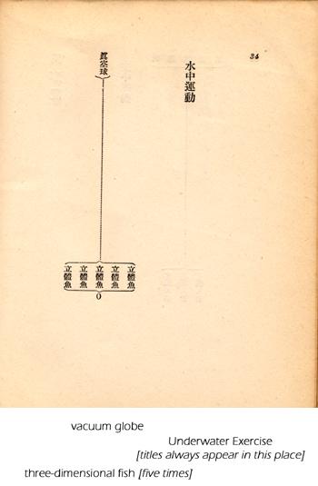 Diagramatic Poems from White Album by Kitasono Katue